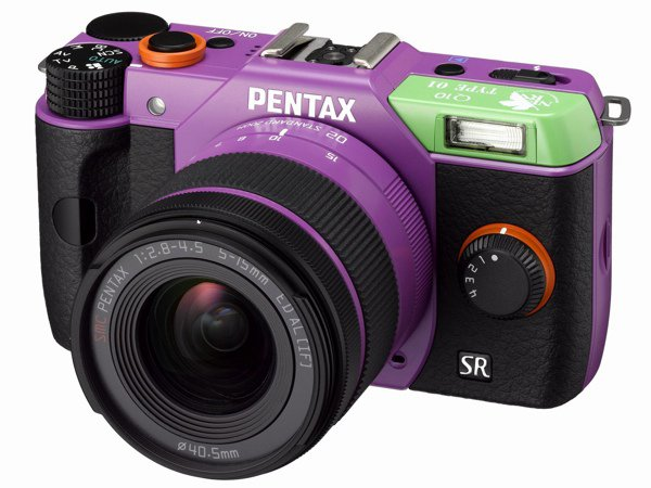 Limited Edition Neon Genesis Evangelion Themed Pentax Cameras
