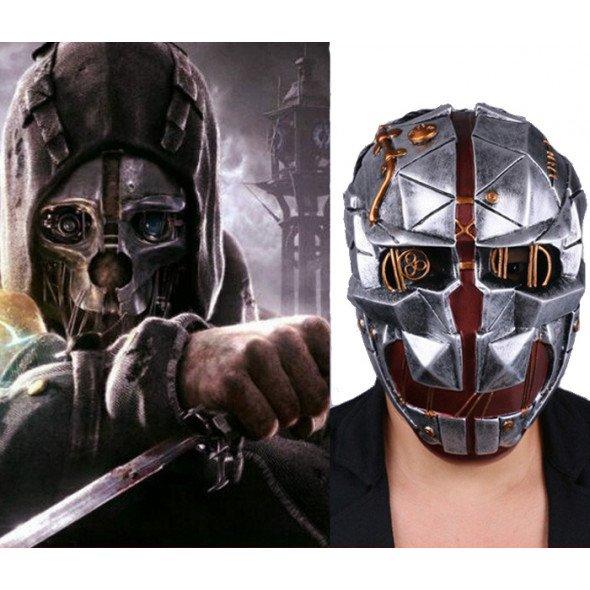 GRP Mask   Dishonored 2   Corvo Attano Mask   Glass Fiber Reinforced Plastics Mask