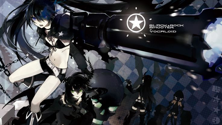 ꜛ Black Rock Shooter - Miku Hatsune ꜛ
