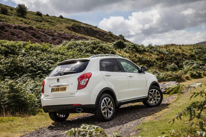 Ssangyong works on a plug-in version of its Korando