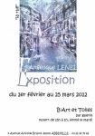expos - Angélique LENEL ARTISTE PEINTRE