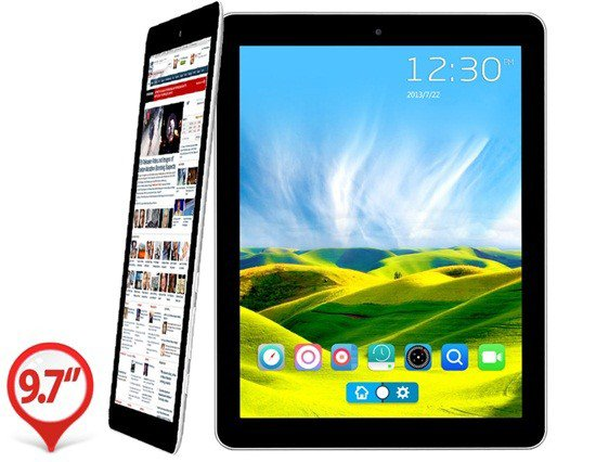 "Teclast P98HD Quad Core 9.7"" 10-point Capacitive Retina Display 2048x1536 Android 4.1.1 Quad Core RK3188 1.6GHz Tablet PC with Wi-Fi, External 3G, 2GB RAM"
