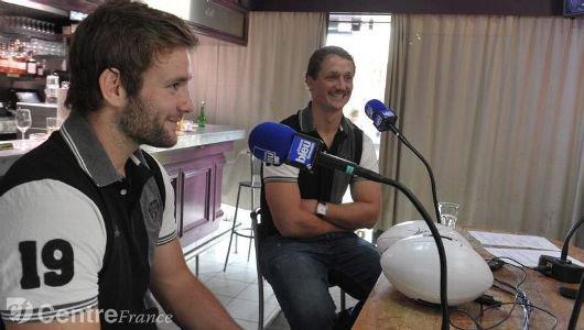 Hugues Briatte et Petrus Hauman étaient les invités de France Bleu, hier soir