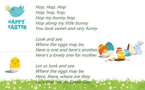 Short Easter Poems for Children 2015