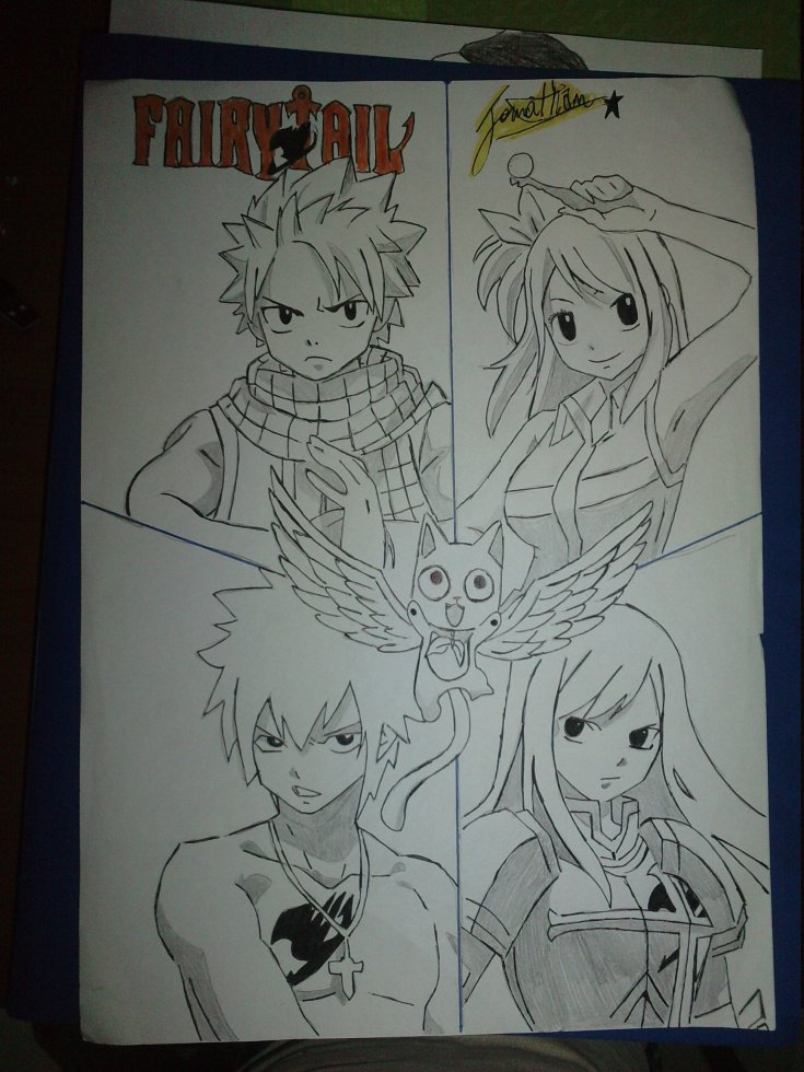 SECTION MANGAS ... FAIRY TAIL (l)