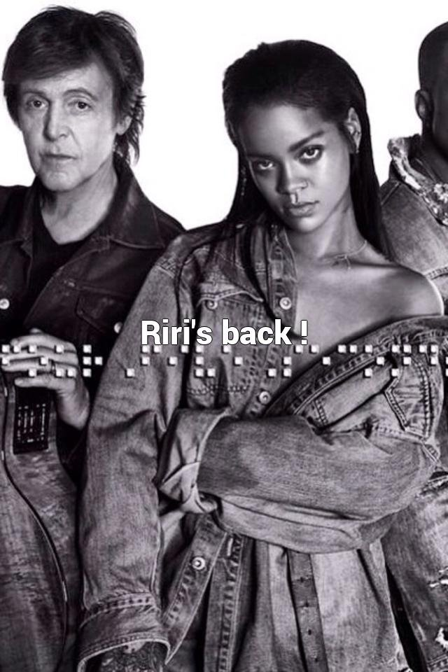 Riri's back !