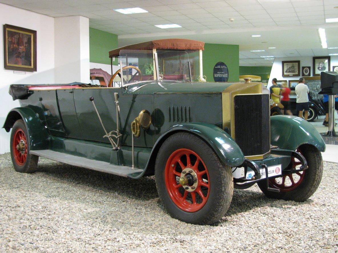 Car: STEYR Штайр Австрия 1920