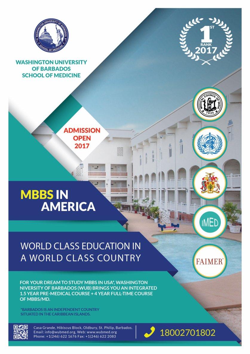 Top Caribbean Medical School - Washington University of Barbados