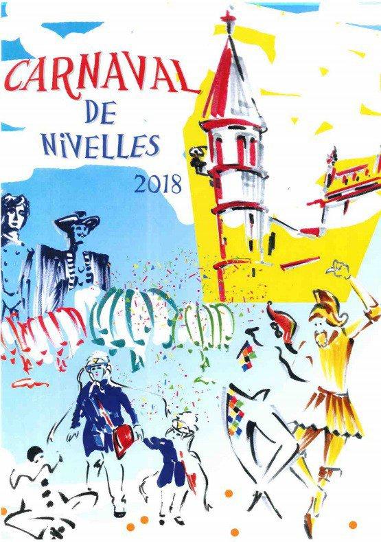 Affiche Carnaval de Nivelles 2018