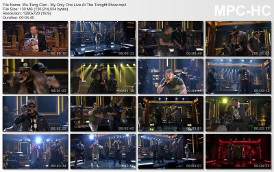 Wu-Tang Clan - My Only One (Live At The Tonight Show)
