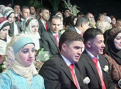 زواجٌ جماعي في أريحا لحوالي 600 فلسطيني وفلسطينية | euronews, العالم