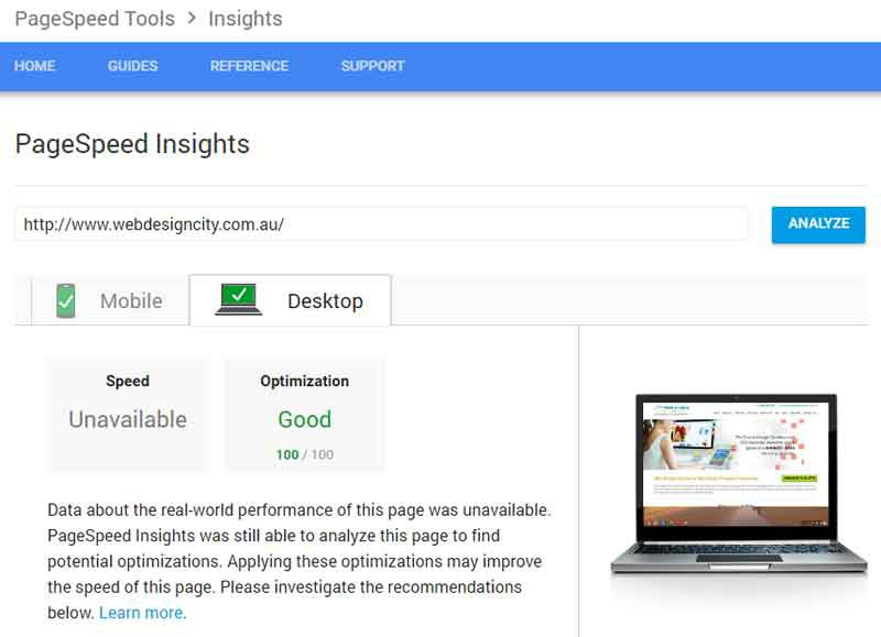 Check Website Speed & Performance with PageSpeed Insight
