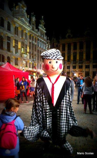 Allemaal in de Grote Markt van Brussel !