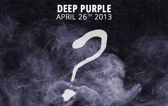 Deep Purple - New Album Out April 26th 2013.