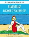 Namur Plage - Plaisirs d´été du 1er juillet au 31 août de 10h à 18h