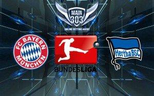 Prediksi Bayern Munchen vs Hertha BSC 25 April 2015 Bundesli
