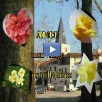 Diaporama Kizoa : Amou village aux mille fleurs