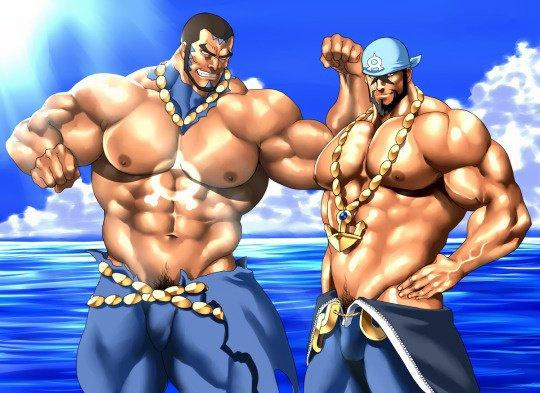 Matthieu et Arthur de la Team Aqua, inséparables ! <3