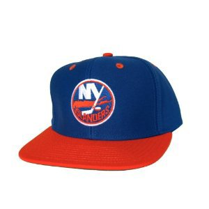 Casquette Neuve Ajustable Officielle NHL - NEW YORK ISLANDERS Snapback - Casquette Bleue/Orange: Amazon.fr: Sports et Loisirs