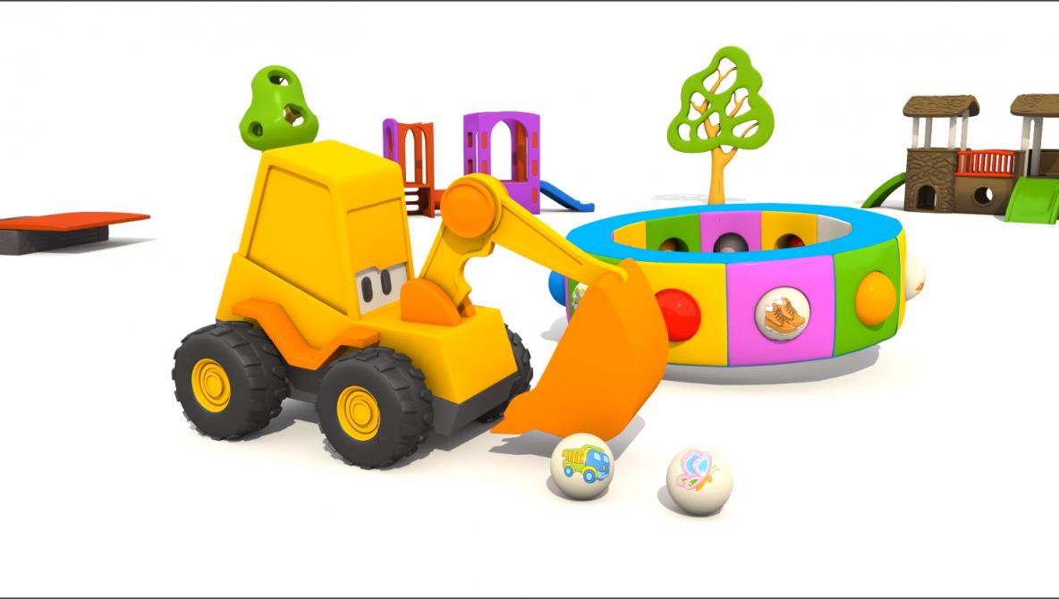 Cartoni animati per bambini camioncino leo: macchine e macchinoni