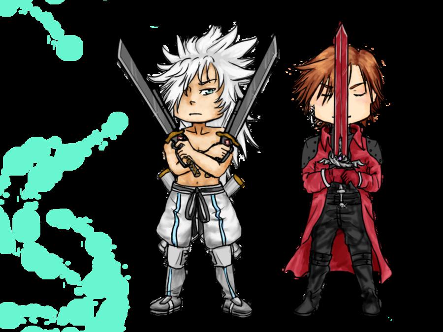 Genesis and Weiss by Akatsuki-no-Aiko on deviantART