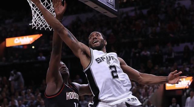 Leonard Gemilang, Spurs Samakan Skor Lawan Rockets | Berita Olahraga Terkini