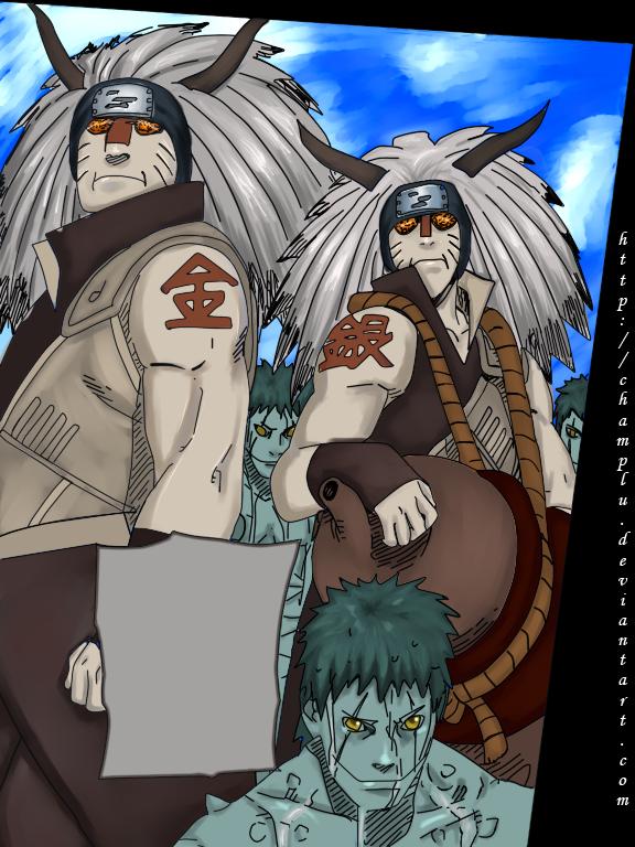 Je vous presente mes 2 bras droit kinkaku et ginkaku
