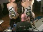 """Un tigre """" Tiger """" En 3D en Body paint!!! Incroyable!! A voir Absolument!!"""