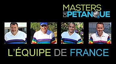 FFPJP ANNONCE SELECTION EQUIPE DE FRANCE MASTERS DE PETANQUE 2017