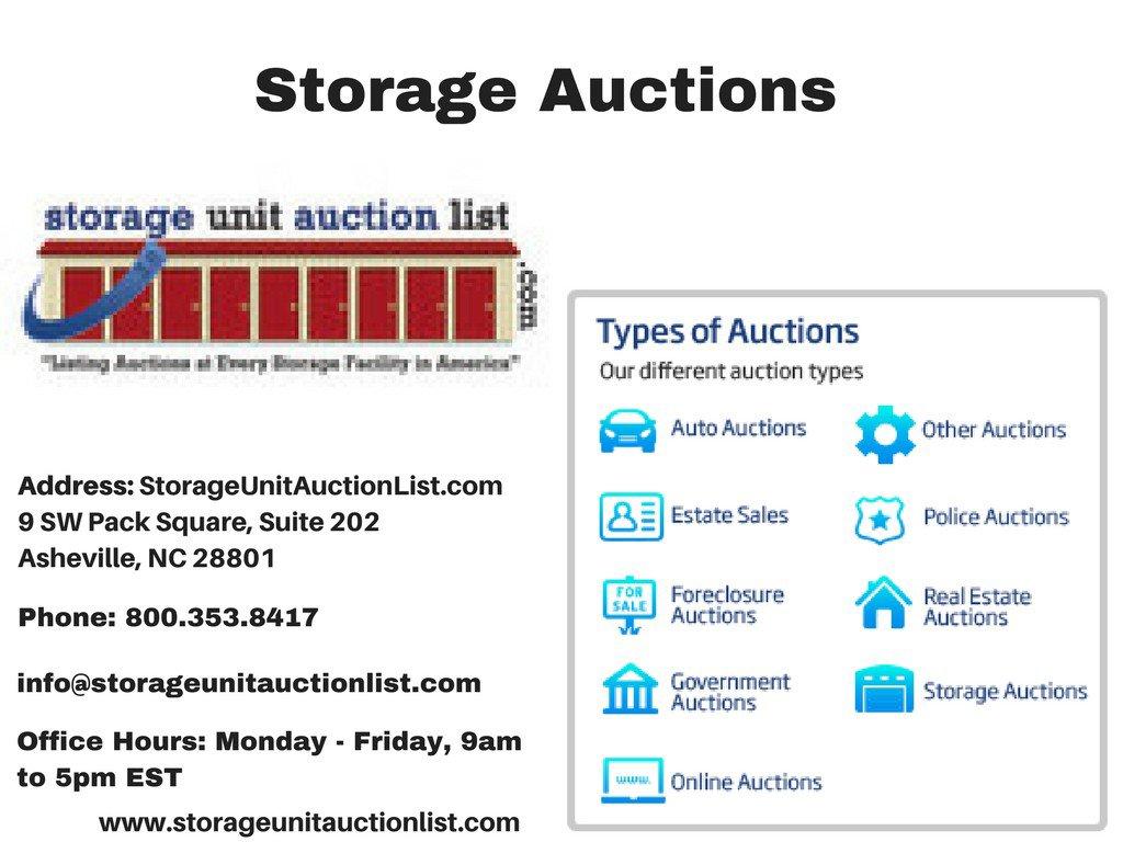 Storage Auctions Lancaster PA