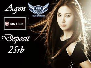 Agen ION Club Deposit 25rb | Main303