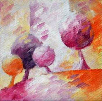 Artiste BéATRICE BEDEUR - Peintre - oil on canvas