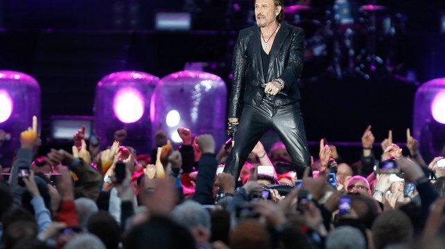 Dans son nouvel album, Johnny Hallyday évoquera les attentats de janvier