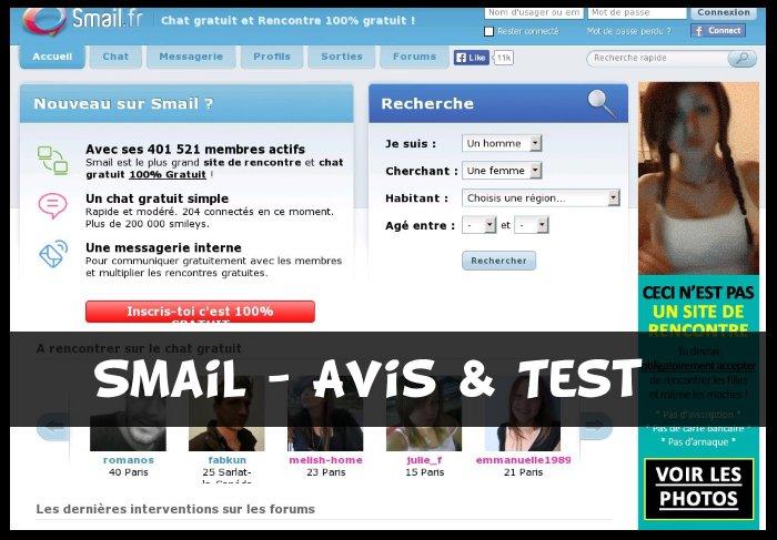 Smail.fr - Test & Avis