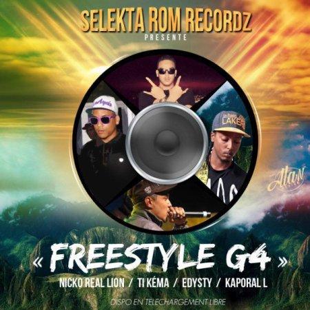 Nicko Real Lion feat. Kaporal L, Ti Kéma & Edy Sty - Freestyle ...