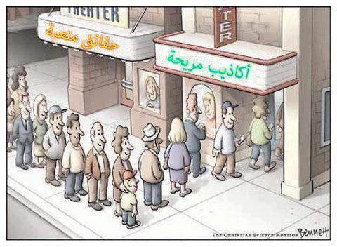 وجع دماغ: (م) تابع (2) ملاحظات تؤخذ في الاعتبار: جني الثمار . . . الربيع العربي