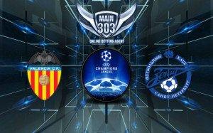 Prediksi Valencia vs Zenit 17 September 2015