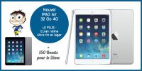Weetix.fr : 1er : Tablette Ipad Air 32 Go APPLE - 2me : 150 Boosts