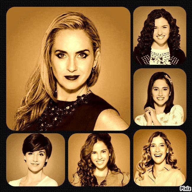 Les filles dans Violetta 3 !