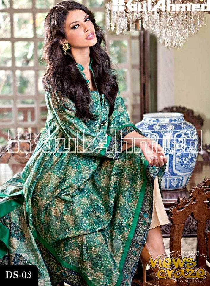 Pakistani Fashion Style: Gul Ahmed Signature Series Collection 2013 | Gul Ahmed Pret Collection