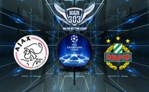 Prediksi Ajax vs Rapid Wien 5 Agustus 2015 UEFA Champions Le