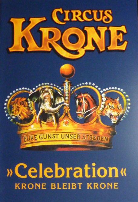 Programme Circus KRONE 2011 Celebration 1ère édition