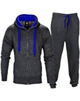 Homme Contraste Corde sweat à capuche pantalon Gym Survêtement Taille S M L XL: Amazon.fr: Vêtements et accessoires
