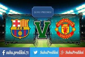 Prediksi Bola Barcelona Vs Manchester United 27 Juli 2017
