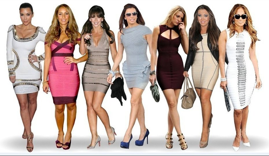 How to Dress to Look Slim-Herve Leger Dresses-Save up to 80% on Herve Leger Sale