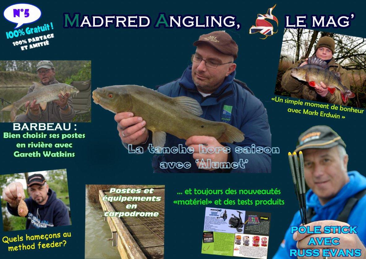 mag 5 et 6 ,7  de madfred la passion de la pêche au coup