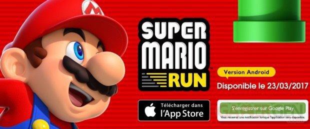 Super Mario Run: enfin la version Android est disponible