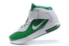 Nike Zoom LeBron 5 V Shoes SVSM St Gorge Green White Sale