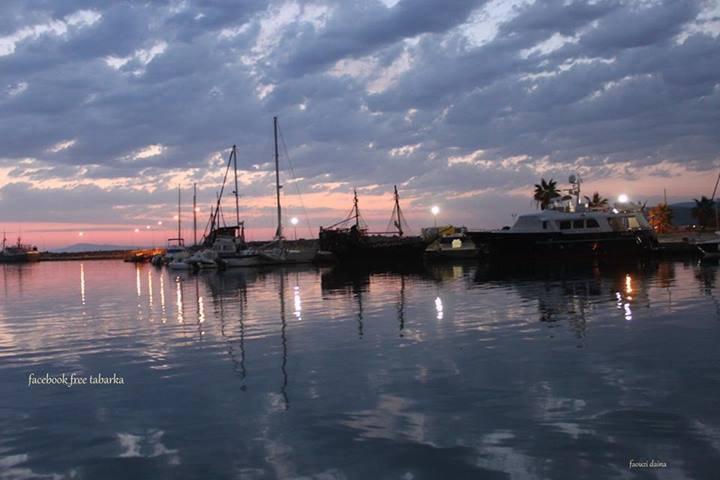 levé de soleil a Tabarka <3