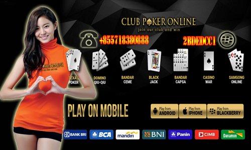 Situs Agen Judi Poker Capsa Susun Online Indonesia